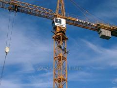 Аренда башенного крана LIEBHERR 120 HC