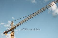 Аренда башенного крана LIEBHERR 112 ЕС-Н