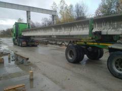 Услуги балковоза, трубовоза, плетевоза. Перевоз длинномерных грузов.