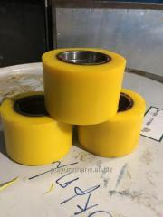Восстановление колёс/роликов полиуретаном