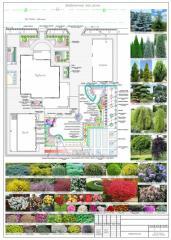 Ландшафтный дизайн, разработка проекта комплексного благоустройства