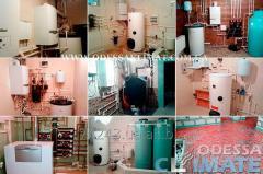 Профессиональный монтаж отопления - водоснабжения в Одессе