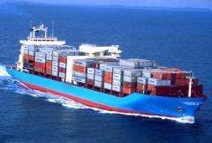 International shipping of goods
