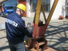 Техническая диагностика грузоподъёмного оборудования