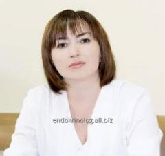 Диетолог, эндокринолог Мурашова Богдана Юрьевна - Эндокринологический центр (Крещатик)