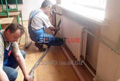 Промывка радиаторов отопления