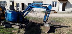 Мини экскаватор Hitachi ЕХ20 Одесса Аренда заказ услуги