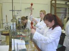 Обучение в университете г. Днепр - факультет технологии неорганических веществ.