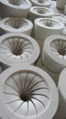 Точное литье в одноразовые гипсовые формы
