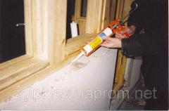 Герметик Сиоласт 1К - заделка оконных и дверных примыканий