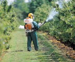 Опрыскивание, обработка садов, плодовых деревьев