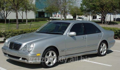 Lease of the car E270 Mercedes with the
