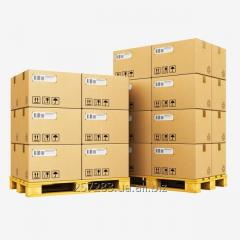 Services of warehouses with the equipment for