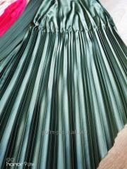 Production of accordion pleats corrugation the