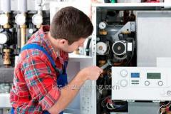 Energy audit of boiler and thermal items