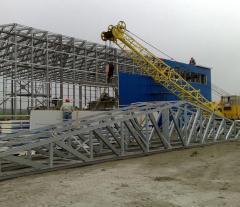 Fabricarea și instalarea de structuri metalice