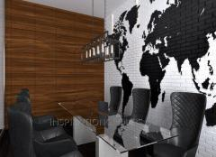 Interior design of public places - offices