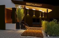 Дизайн интерьеров ресторанов входной группы...