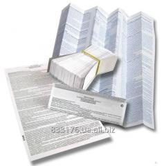 Printed sheets