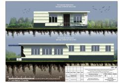 Developing of architecture plans and projects