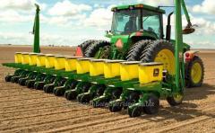 Услуги посева пшеницы, кукурузы и др. культур
