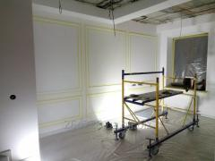 Шпаклевка стен и потолков Одесса. Малярные работы. Отделочные работы.