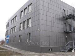 Монтаж Вентилируемого фасадов