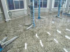Укрепление бетонного покрытия,СТО,магазины.