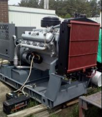 Техническое обслуживание, ремонт, капитальный ремонт дизельного генератора АСДА-100