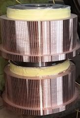 Оказываем услуги по изготовлению коллекторов к экскаваторным электродвигателям