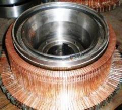 Услуги по изготовлению коллекторов к электродвигателям ДРТ и ДТН