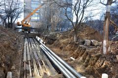 Ізоляції стиків попередньоізольованих трубопроводів Тепломережі Київ НК-ОНІКС