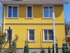Нанесение на поверхность стен Декоративных штукатурок (барашек, короед, мозаика). Покраска фасадов домов Днепр