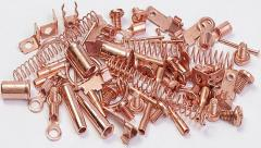 Application of copper to metal