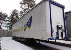 Разборка грузовых полуприцепов на запчасти