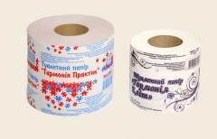 Этикетка на туалетную бумагу