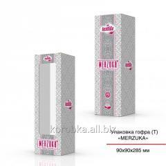Изготовление картонной упаковки тубус 90х90х285 мм
