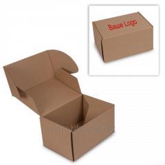 Нанесение  печати на картонную коробку