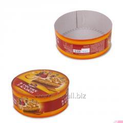 Картонные коробки круглые под торт на заказ