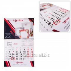 Дизайн, изготовление календарей разного вида