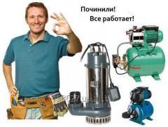 Чистка, ремонт, обвязка скважин в Севастополе .