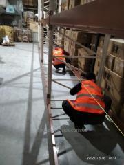 Монтаж и демонтаж всех типов складских Стеллажей, стеллажных конструкций, любой сложности...