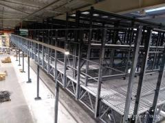 Installation and dismantling of all types of storage racks, rack structures, any complexity ...
