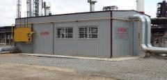 Будівництво газових Модульних Котелень потужністю до 100 МВт