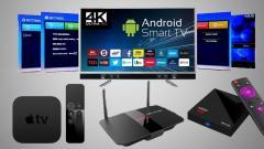 Настройка Smart ТВ, Андроид, Приемники Т2, IPTV ТВ