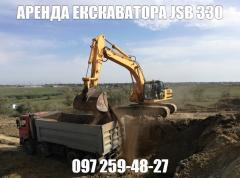 Аренда экскаватора JCB 330