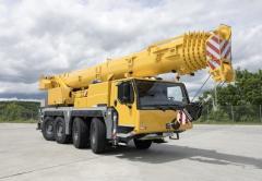 Автокран, до 60 тонн, Liebherr