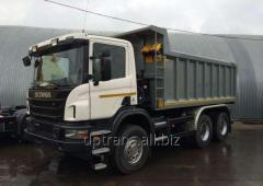 Самосвал, до 25 тонн, Scania