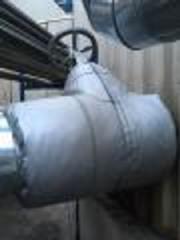 Монтаж запорной арматуры, чехлы для запорной арматуры