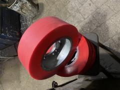 Реставрация, востановление колёс  полиуретаном